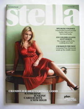 Stella magazine - Katherine Jenkins cover (21 October 2007)