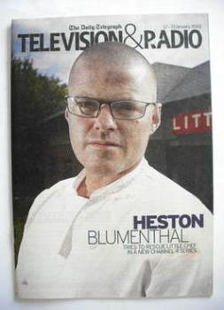 Television&Radio magazine - Heston Blumenthal cover (17 January 2009)