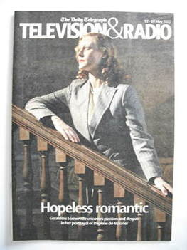 Television&Radio magazine - Geraldine Somerville cover (12 May 2007)