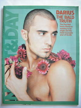 Night & Day magazine - Darius Danesh cover (17 October 2004)