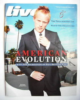 <!--2009-09-13-->Live magazine - Paul Bettany cover (13 September 2009)