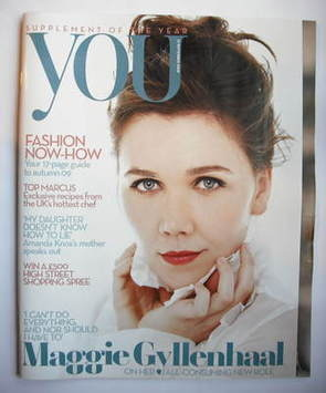 <!--2009-09-13-->You magazine - Maggie Gyllenhaal cover (13 September 2009)