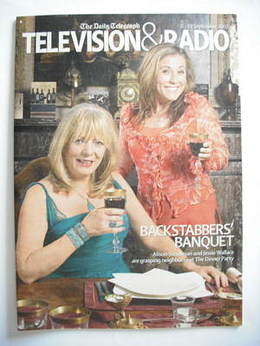 Television&Radio magazine - Alison Steadman and Jessie Wallace cover (8 Sep