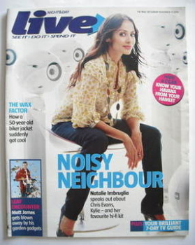Live magazine - Natalie Imbruglia cover (13 November 2005)