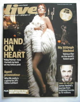 Live magazine - Patsy Palmer cover (23 April 2006)