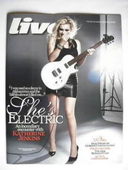 Live magazine - Katherine Jenkins cover (20 September 2009)