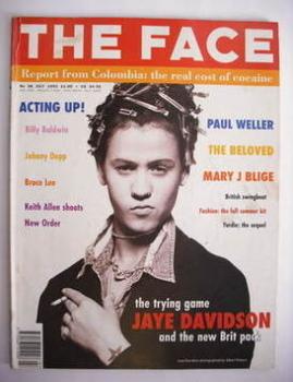 The Face magazine - Jaye Davidson cover (July 1993 - Volume 2 No. 58)