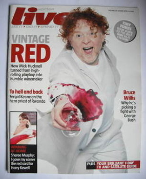 Live magazine - Mick Hucknall cover (16 April 2006)