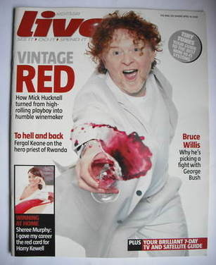 <!--2006-04-16-->Live magazine - Mick Hucknall cover (16 April 2006)