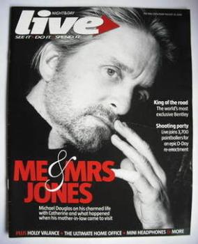 Live magazine - Michael Douglas cover (20 August 2006)