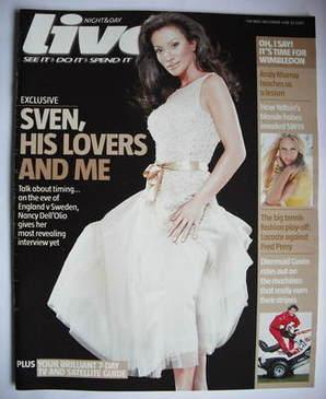 <!--2006-06-18-->Live magazine - Nancy Dell'Olio cover (18 June 2006)