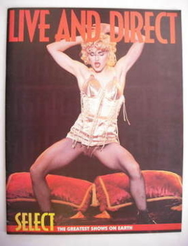 Select Live And Direct supplement - Madonna cover (December 1990)