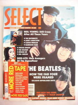 SELECT magazine - The Beatles cover (November 1990)