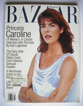 <!--1996-10-->Harper's Bazaar magazine - October 1996 - Princess Caroline c