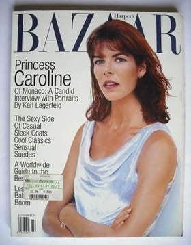 <!--1996-10-->Harper's Bazaar magazine - October 1996 - Princess Caroline c