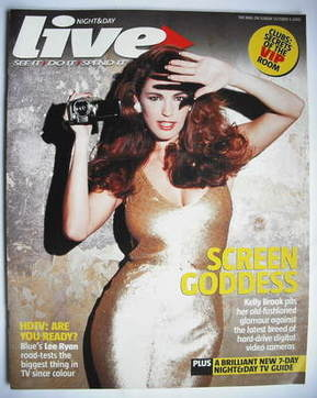 <!--2005-10-09-->Live magazine - Kelly Brook cover (9 October 2005)
