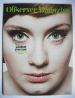 <!--2008-01-27-->The Observer magazine - Adele cover (27 January 2008)
