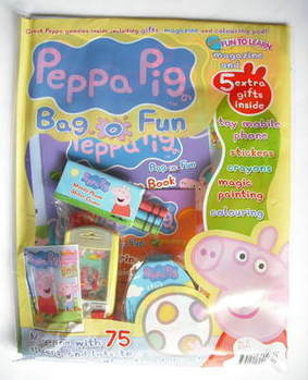 Peppa Pig magazine - Bag O Fun (August 2009 - Issue 2)