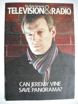 Television&Radio magazine - Jeremy Vine cover (13 January 2007)