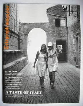 <!--2009-09-05-->Telegraph magazine - A Taste Of Italy cover (5 September 2