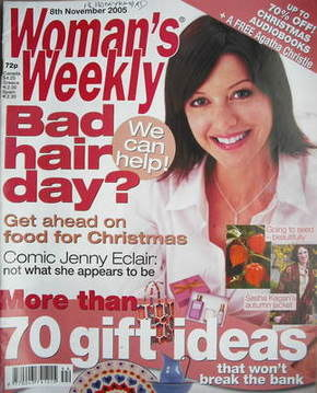 <!--2005-11-08-->Woman's Weekly magazine (8 November 2005 - British Edition
