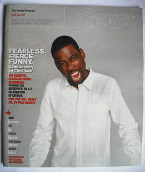 <!--2008-01-06-->Seven magazine - Chris Rock cover (6 January 2008)