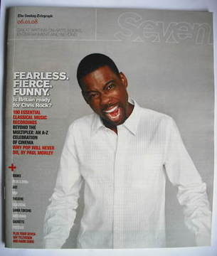Seven magazine - Chris Rock cover (6 January 2008)