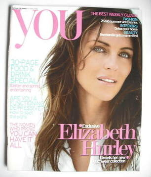 <!--2006-04-09-->You magazine - Elizabeth Hurley cover (9 April 2006)