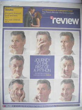 The Daily Telegraph Review newspaper supplement - 22 August 2009 - Michael