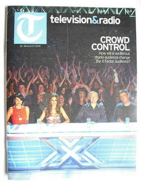 Television&Radio magazine - Dannii Minogue, Cheryl Cole, Louis Walsh, Simon