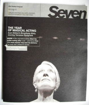 <!--2007-04-01-->Seven magazine - Vanessa Redgrave cover (1 April 2007)