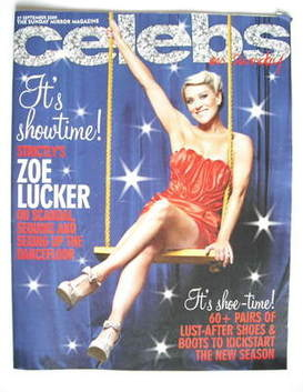 <!--2009-09-27-->Celebs magazine - Zoe Lucker cover (27 September 2009)