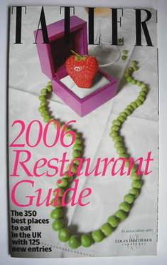 Tatler supplement - UK Restaurant Guide 2006
