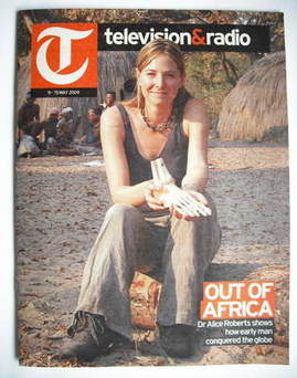 Television&Radio magazine - Dr Alice Roberts cover (9 May 2009)
