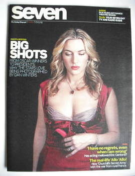 Seven magazine - Kate Winslet cover (17 May 2009)