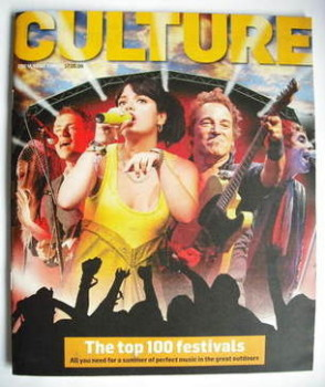 Culture magazine - The Top 100 Festivals cover (17 May 2009)