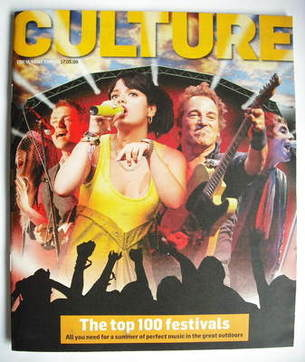 <!--2009-05-17-->Culture magazine - The Top 100 Festivals cover (17 May 200