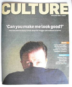 <!--2009-09-27-->Culture magazine - Ricky Gervais cover (27 September 2009)