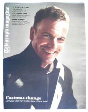 <!--2009-10-03-->Telegraph magazine - Jonny Lee Miller cover (3 October 200