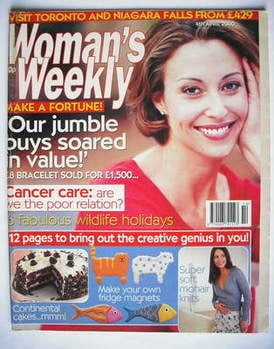 <!--2000-04-04-->Woman's Weekly magazine (4 April 2000 - British Edition)