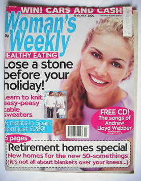 <!--2000-05-16-->Woman's Weekly magazine (16 May 2000 - British Edition)