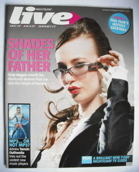 Live magazine - Lizzy Jagger cover (16 October 2005)