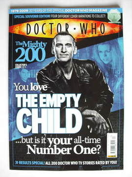 <!--2009-10-14-->Doctor Who magazine - Christopher Eccleston cover (14 Octo