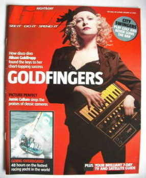 Live magazine - Alison Goldfrapp cover (22 January 2006)