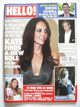 <!--2009-10-12-->Hello! magazine - Kate Middleton cover (12 October 2009 -