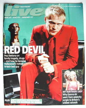 <!--2006-03-19-->Live magazine - Paul Bettany cover (19 March 2006)