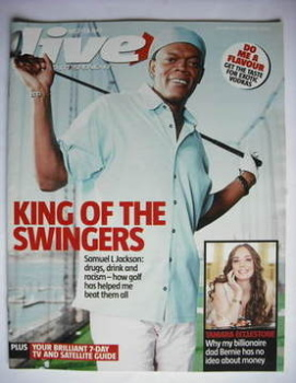 Live magazine - Samuel L Jackson cover (9 April 2006)