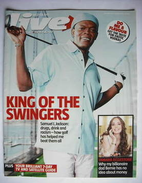 <!--2006-04-09-->Live magazine - Samuel L Jackson cover (9 April 2006)