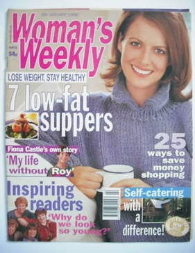 <!--1998-01-06-->Woman's Weekly magazine (6 January 1998)