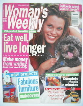 <!--1997-08-12-->Woman's Weekly magazine (12 August 1997)